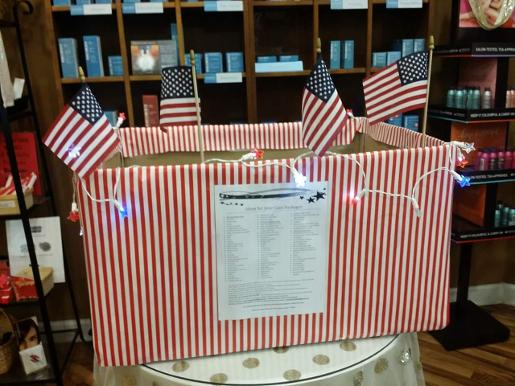 America's Warriors Care Package Projects
